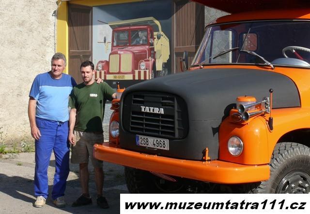 Milan Horka a Milan Horka ml - hlavní hnací síly muzea